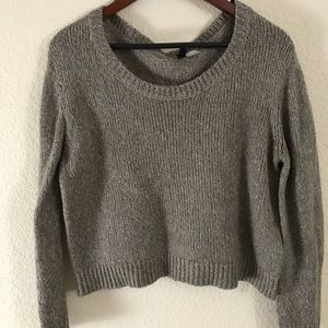 H&M crop sweater!